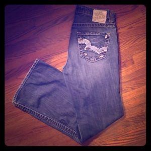 Big Star Maddie Mid Rise Boot Cut Jeans